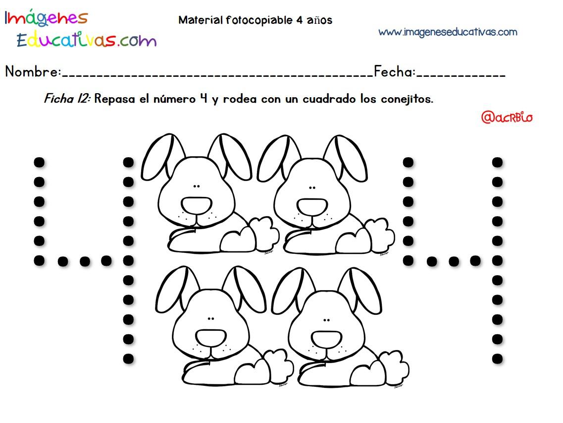 Dibujos Colorear Ninos 4 Anos: Cuadernillo Complementario Para 4 Años, Educación