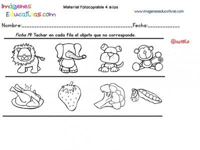 Cuadernillo complementario para 4 años, Educación Preescolar (19)