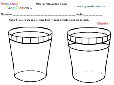 Cuadernillo complementario para 4 años, Educación Preescolar (6)