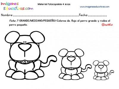 Cuadernillo complementario para 4 años, Educación Preescolar (7)