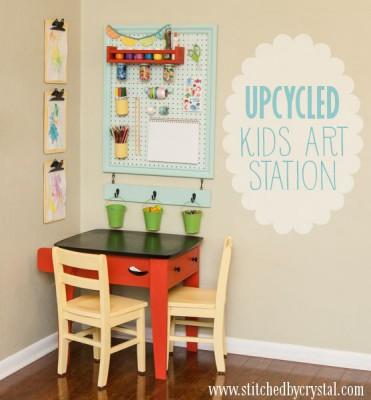 Escritorios y zonas de trabajo para niños (14)