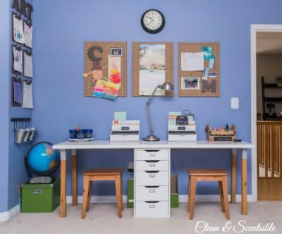 Escritorios y zonas de trabajo para niños (15)
