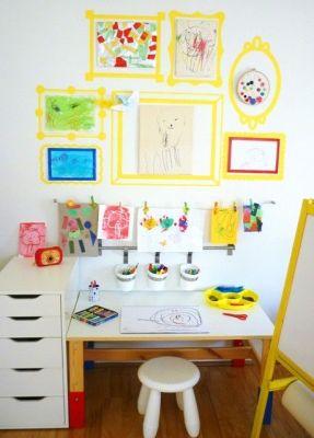 Escritorios y zonas de trabajo para niños (5)