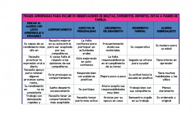 FRASES APROPIADAS PARA INCLUIR EN OBSERVACIONES DE BOLETAS (1)