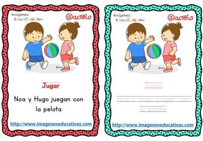 Lectoescritura verbos de acción (15)