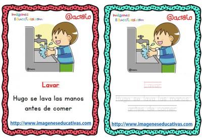 Lectoescritura verbos de acción (7)