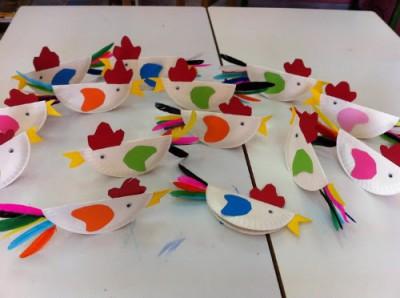 Platos de plástico o de papel (20)