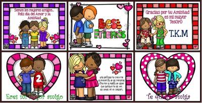 Tarjetas día del amor y de la amistad Portada