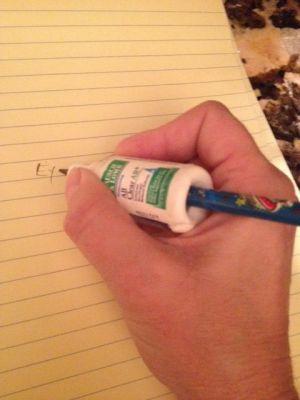 Trucos enseñar a coger el lápiz correctamente (2)