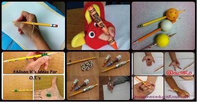 Trucos enseñar a coger el lápiz correctamente Portada