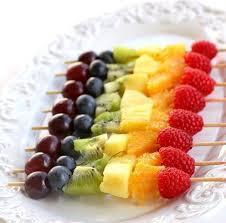 Fuentes y brochetas de frutas (25)