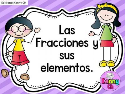 Las fracciones y sus elementos - (1)