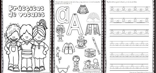 Cuadernillo fichas para trabajar la preescritura nivel inicial 2 – 3 ...