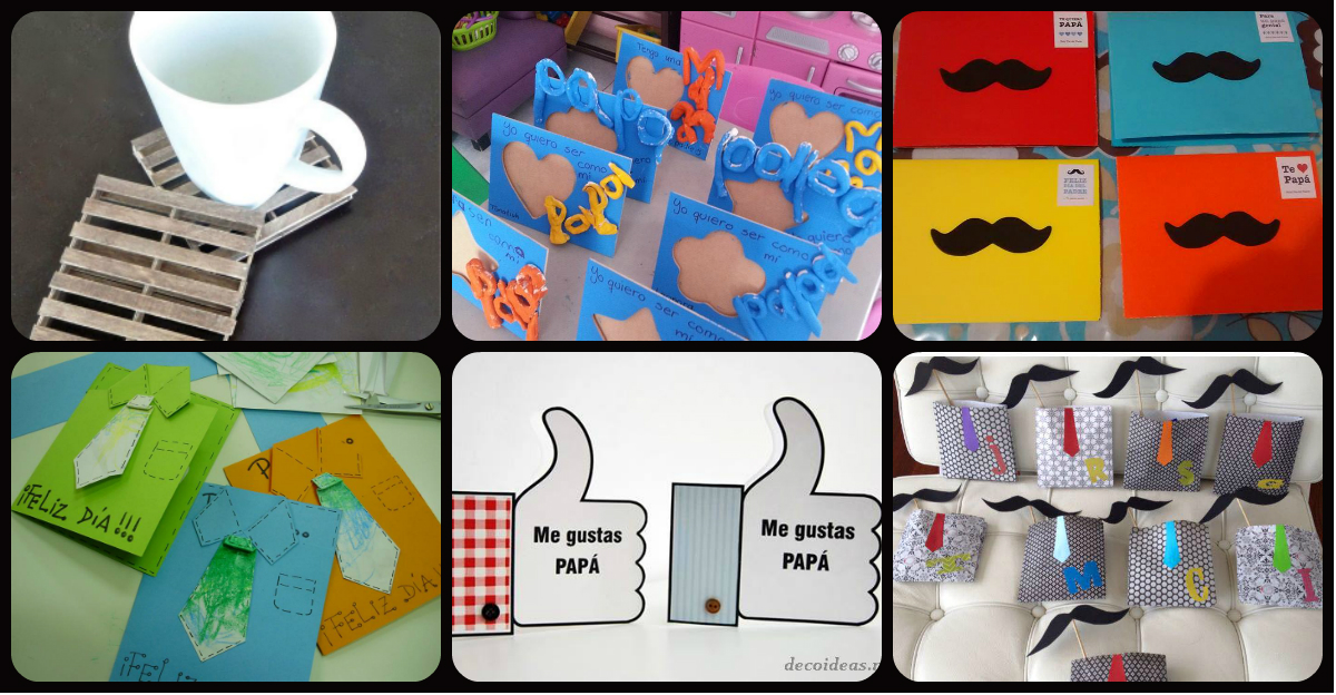 Manualidades dia del padre portada imagenes educativas for Manualidades decoracion infantil