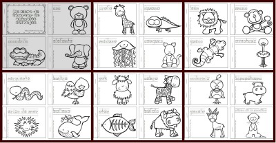 Mi libro de colorear de animales salvajes PORTADA