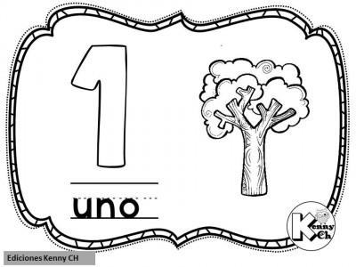 Mini librito mis primeros números (3)