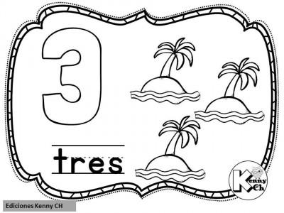 Mini librito mis primeros números (5)