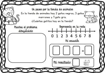 Problemas de razonamiento matemático en preescolar (5)