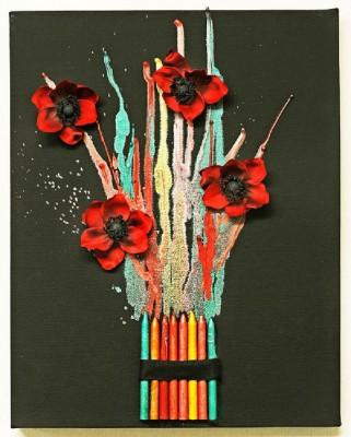 Regalos y manualidades dia de la madre Flores (10)