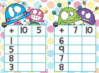 Súper bingos de sumas (1)