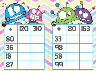 Súper bingos de sumas (5)