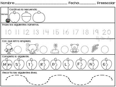 Semanario de actividades para preescolar actividades de refuerzo (5)