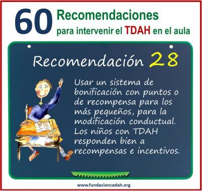 60 recomendaciones para intervenir el TDAH en el aula (28)