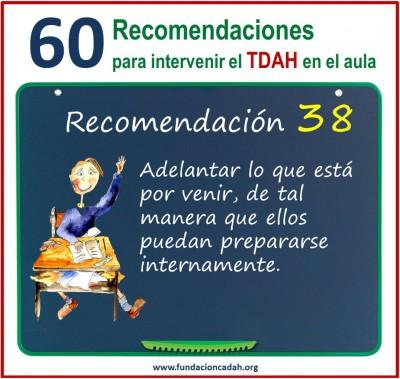 60 recomendaciones para intervenir el TDAH en el aula (38)