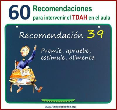 60 recomendaciones para intervenir el TDAH en el aula (39)