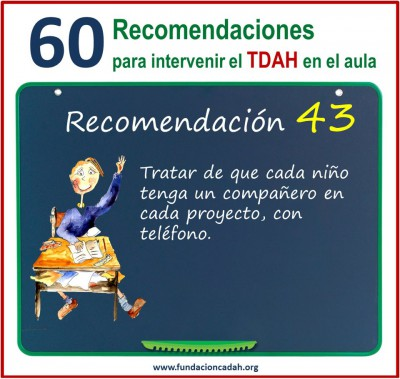 60 recomendaciones para intervenir el TDAH en el aula (43)