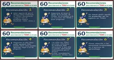 60 recomendaciones para intervenir el TDAH en el aula Portada I