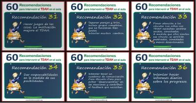 60 recomendaciones para intervenir el TDAH en el aula Portada II