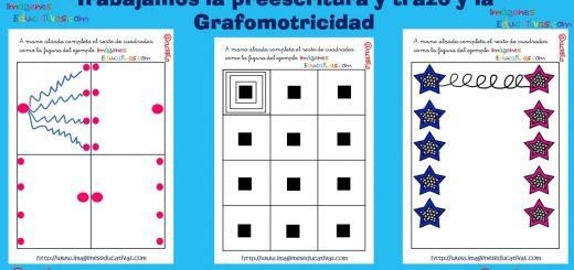 Trabajamos la preescritura y trazo y la grafomotricidad PORTADA