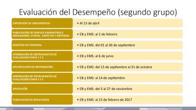Calendario de Evaluaciones SEP INEE 2016 (10)