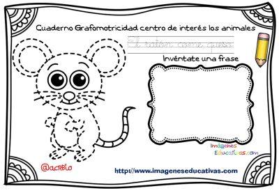 Cuaderno Grafomotricidad centro de interés los animales  (7)