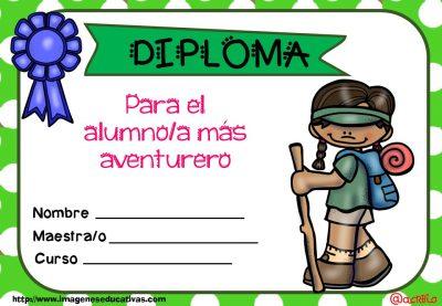 Diplomas FIN DE CURSO para premiar actitud y las capacidades (12)