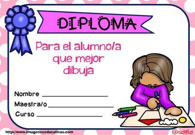 Diplomas FIN DE CURSO para premiar actitud y las capacidades (7)