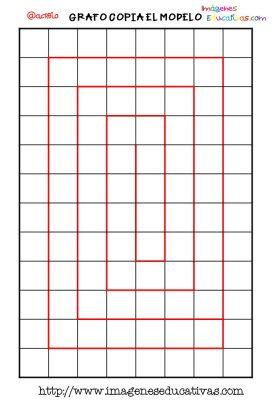Grafomotricidad en pauta de cuadritos (9)
