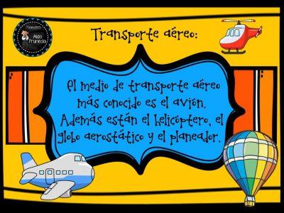 MEDIOS DE TRANSPORTE (8)