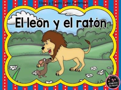 EL LEON Y EL RATON FABULA (1)