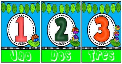 Carteles Números 1 al 10 PORTADA