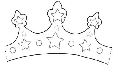 Moldes y plantillas coronas de cumpleaños (12)
