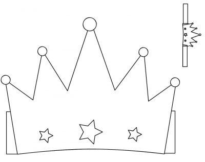 Moldes y plantillas coronas de cumpleaños (3)