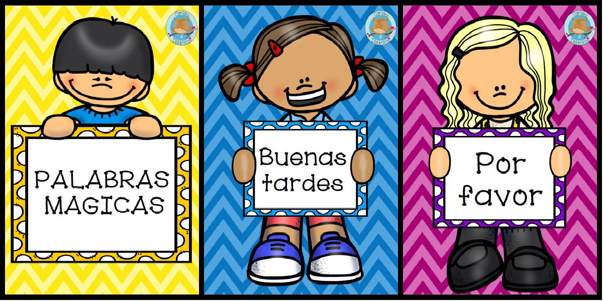Imagenes De Dibujos Para Decorar El Aula De Preescolar