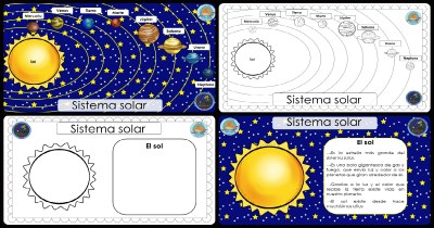 Sistema Solar CARTELES DIDÁCTICOS PORTADA