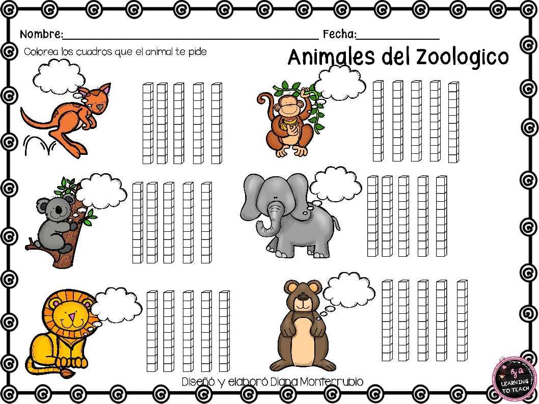 actividades-animales-de-zoologico-15 - Imagenes Educativas