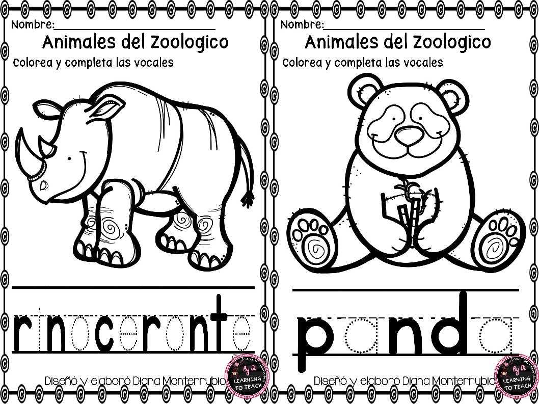 actividades-animales-de-zoologico-6 - Imagenes Educativas