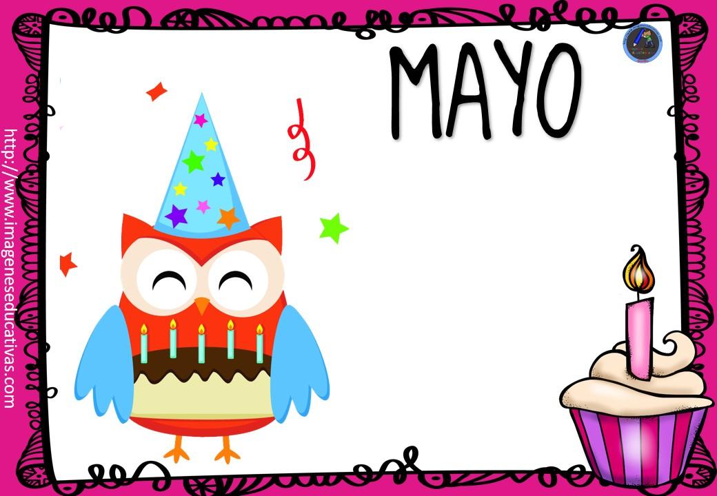 Carteles Y Tarjetas De Feliz Cumpleaños Para Colorear: CARTELES CUMPLEAÑOS (5)