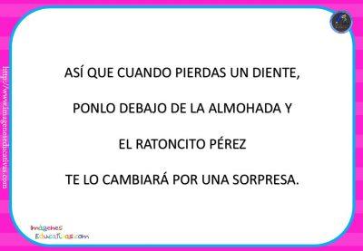 """Cuento pon pictogramas """"El Ratoncito Pérez"""" (12)"""
