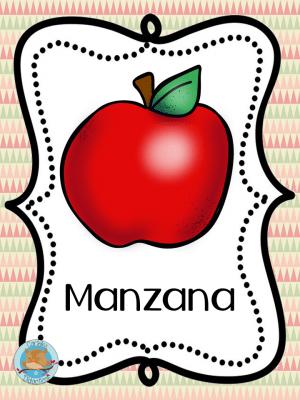 Tarjetas Para Trabajar Los Alimentos Imagenes Educativas